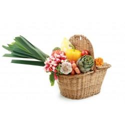 Panier surprise avec les légumes du moment
